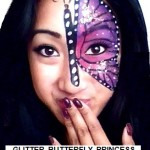 Princess Butterfly Painting